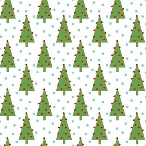 christmas tree forest woodland christmas holiday design simple nordic christmas tree