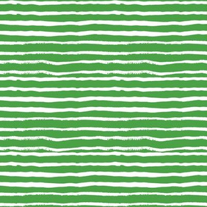 green and white hand painted stripes stripe green holiday festive xmas