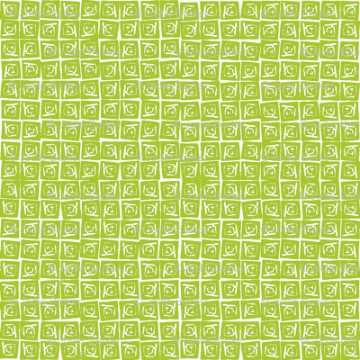 At Square Small - Lime