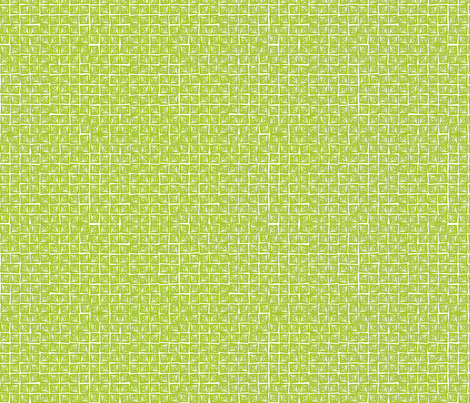 At Square Small - Lime fabric by jodiebarker on Spoonflower - custom fabric