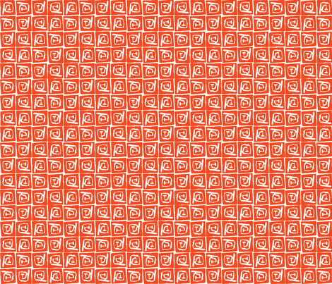At Square Big - Orange Spice fabric by jodiebarker on Spoonflower - custom fabric