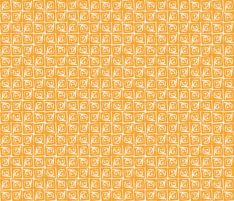 At Square Big - Saffron fabric by jodiebarker on Spoonflower - custom fabric