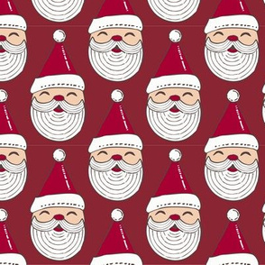 Happy Santa Ornament