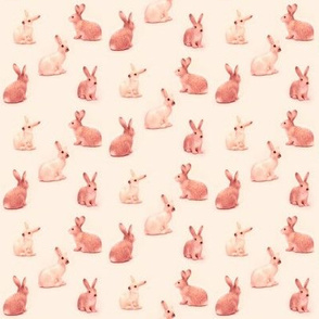 Lots of Bunnies in Peachy