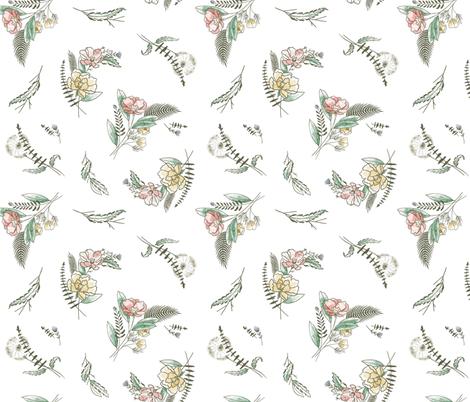 Honest Meadow fabric by khubbs on Spoonflower - custom fabric