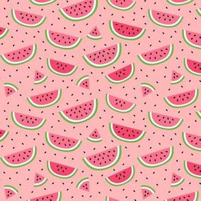 watermelons light pink :: fruity fun