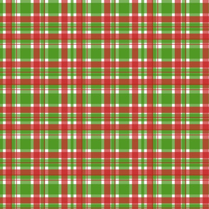 Christmas Plaid-Green