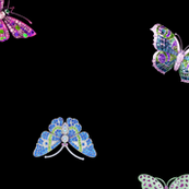 Crystal Butterfly // Gemstone Butterfly // diamond // Jewel Sparkle