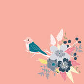 Bird and Bouquet
