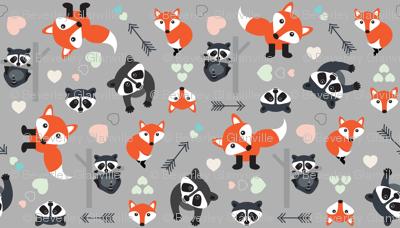 Foxy Racoon New Love