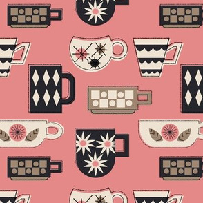 Coffee Mugs in Pink