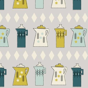 Coffee Pots in Gray