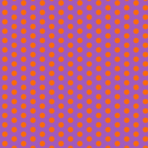 radiant orchid dots