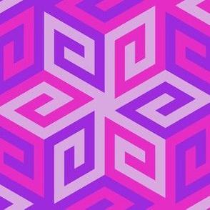 greek cube : madder
