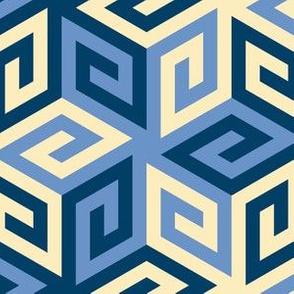 05636805 : greek cube : twilight blue cities