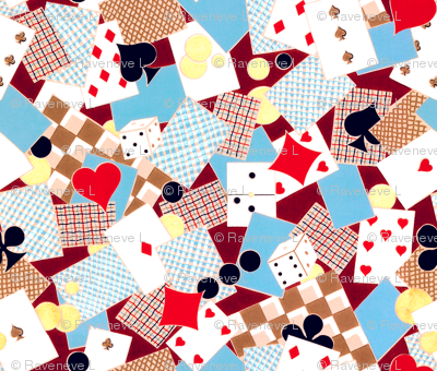 french playing cards suits poker clubs diamonds spades hearts dice domino gambling gamble elegant gothic lolita checker chequer games egl