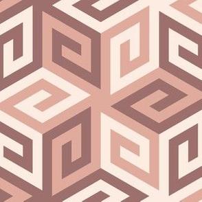 05636962 : greek cube : pink oolong