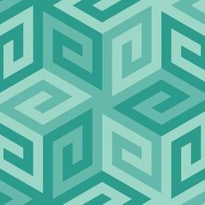 05636988 : greek cube : blue oolong