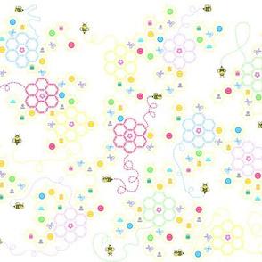 Sewing Bee Pastel
