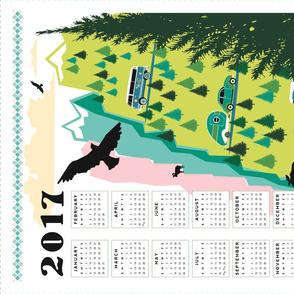 2017_Retro_Road_Trip_calendar