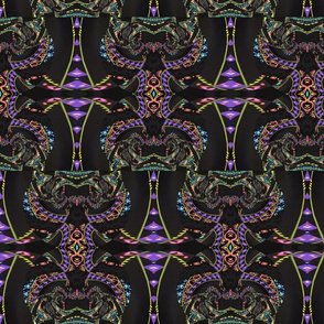Purple flourish