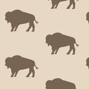 Bison Herd Earth