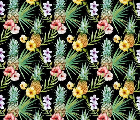 Rrrfruit-pineapple_tropical_on_black-01_shop_preview