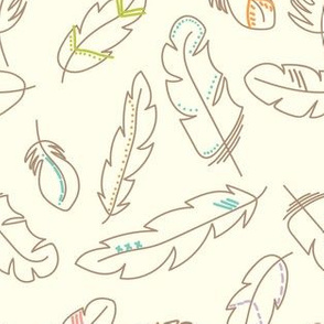Painted Feather