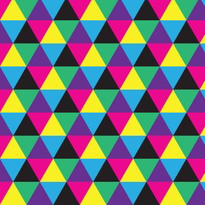 DPI CMYK Diamonds Triangles