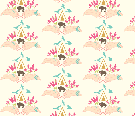 Chimney Cone Prismatic fabric by mariah_girl on Spoonflower - custom fabric