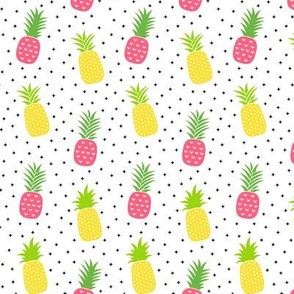pineapples + pink :: fruity fun