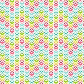 rainbow chevron arrows :: fruity fun