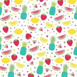 fruity mix plus teal :: fruity fun
