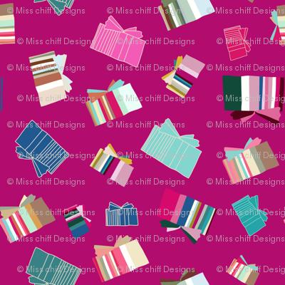 16-23L Holiday Christmas Birthday Jewel Presents || Pink mint blue _Miss Chiff Designs