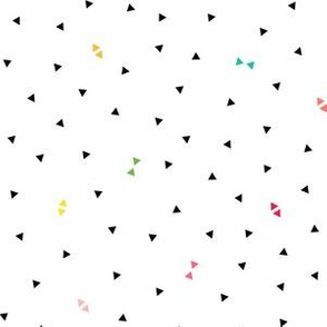 triangle confetti :: fruity fun