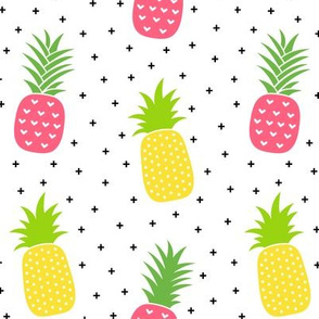 pineapples + pink :: fruity fun bigger
