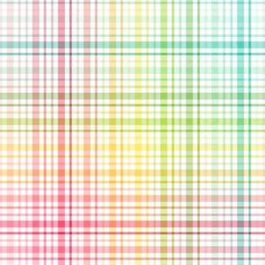 rainbow plaid multi :: fruity fun bigger