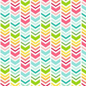chevron arrows :: fruity fun bigger