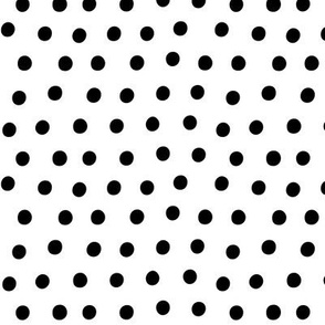 dots black white :: fruity fun bigger
