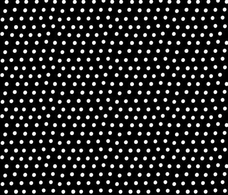dots white black :: fruity fun bigger fabric by misstiina on Spoonflower - custom fabric