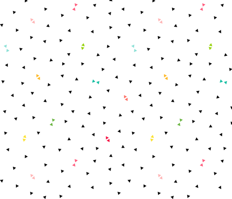 triangle confetti :: fruity fun bigger fabric by misstiina on Spoonflower - custom fabric