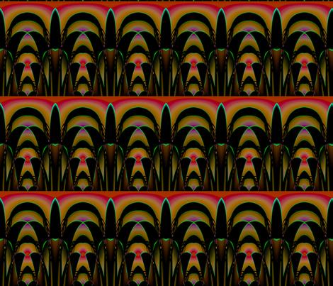 pineapple gate fabric by graylorax on Spoonflower - custom fabric