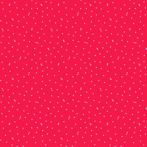 triangle confetti red :: fruity fun