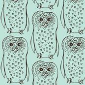 Liitle mint owl