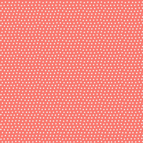 dots coral :: fruity fun