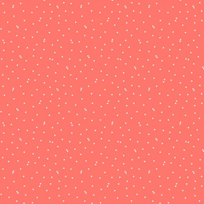 triangle confetti coral :: fruity fun