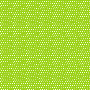 dots lime green :: fruity fun