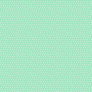 dots mint green :: fruity fun