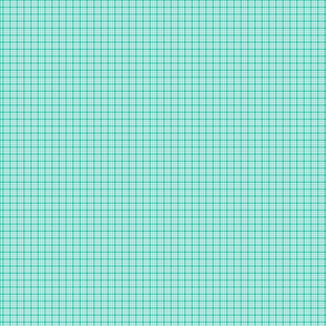 plaid teal :: fruity fun