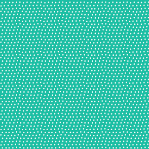 dots teal :: fruity fun